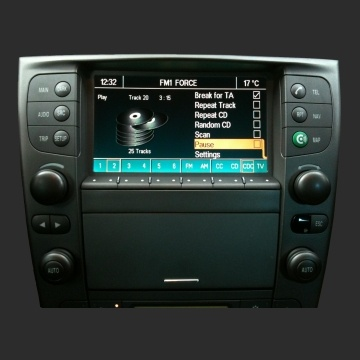 Loudlink Bluetooth Handsfree Car Kit and Ogg Vorbis MP3 AAC WMA FLAC WAV player for Lancia THESIS