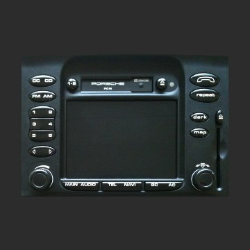 Loudlin AUX and Ogg Vorbis MP3 AAC WMA FLAC WAV player for Porsche BOXSTER / 911 PCM1