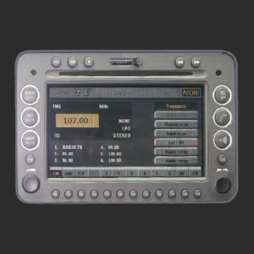 Loudlink AUX and Ogg Vorbis MP3 AAC WMA FLAC WAV player for Alfa Romeo 159, BRERA, SPIDER ConnectNAV+