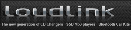 Loudlink - The new generation of CD changers - Solid State Car MP3 player